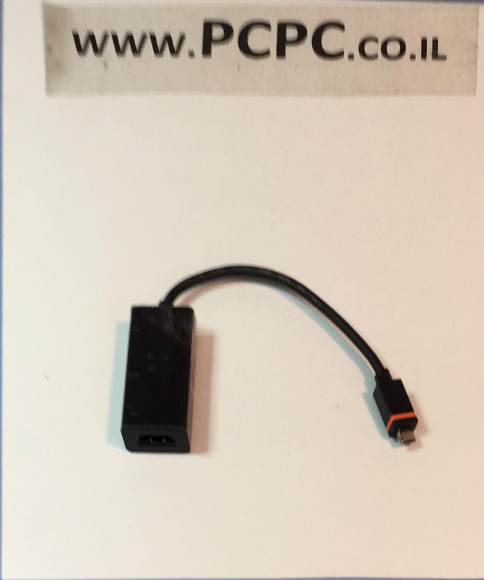 מתאם HDMI נקבה למיקרו USB זכר מתאים ל טלפונים LG-NEXUS