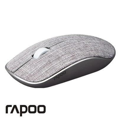 עכבר אלחוטי  RAPOO 3510 PLUSB  בד אפור