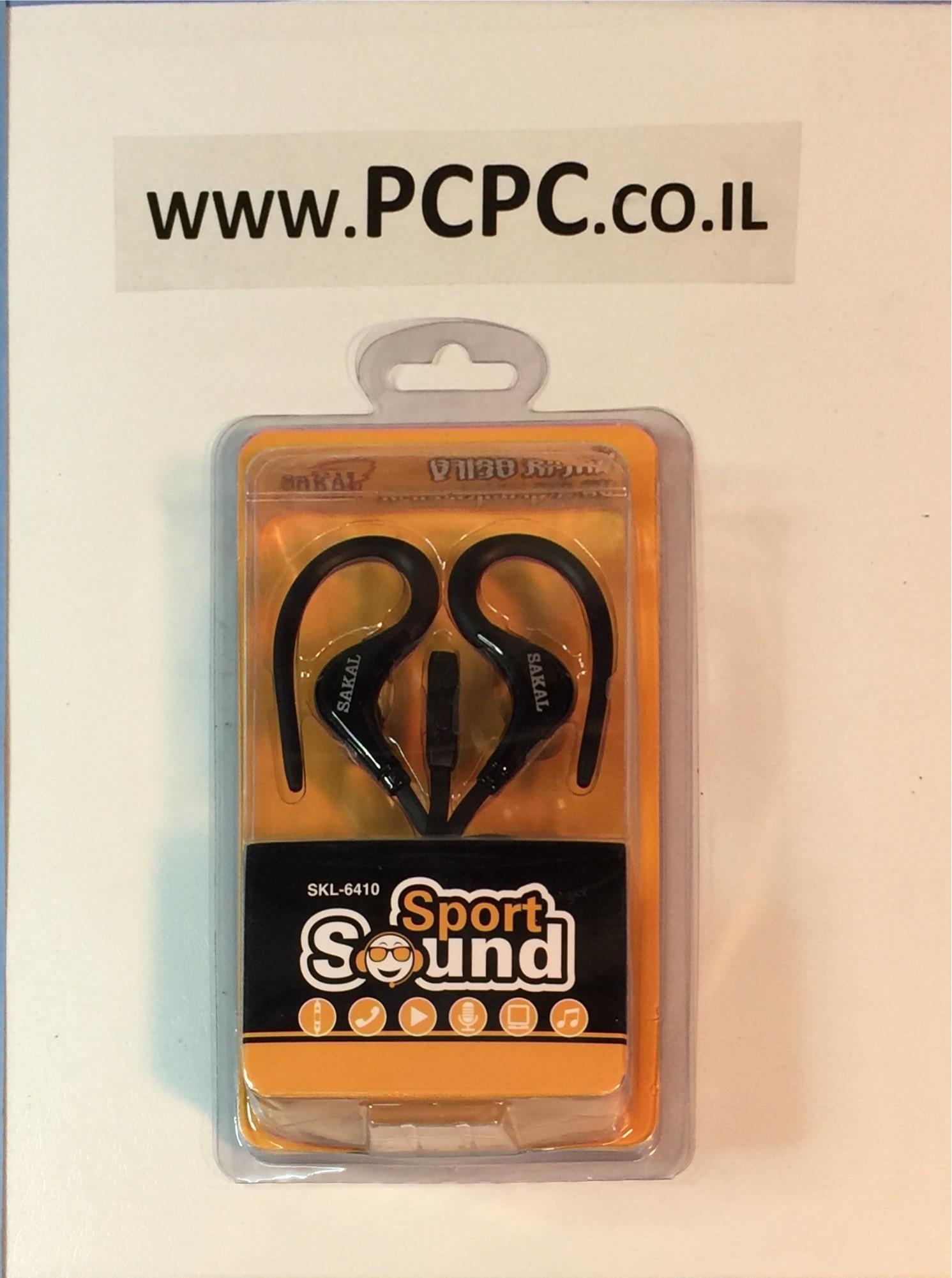 אוזניות עם מיקרופון לטלפון סלולרי  SAKAL SKL-6410