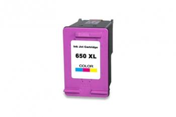 ראש דיו תחליפי צבע HP 650XL הספק 400 דף