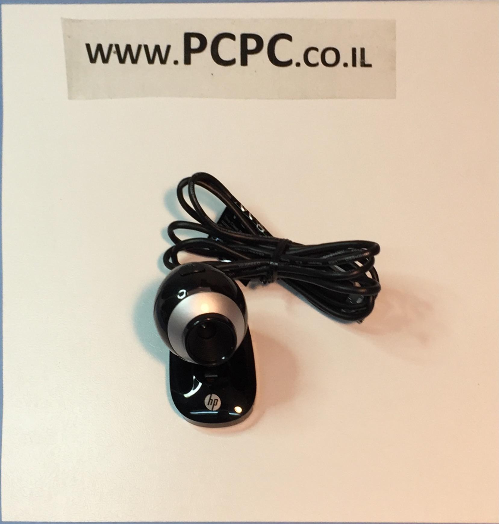 מצלמת אינטרנטּ+מיקרופון   HP AU165AA USB