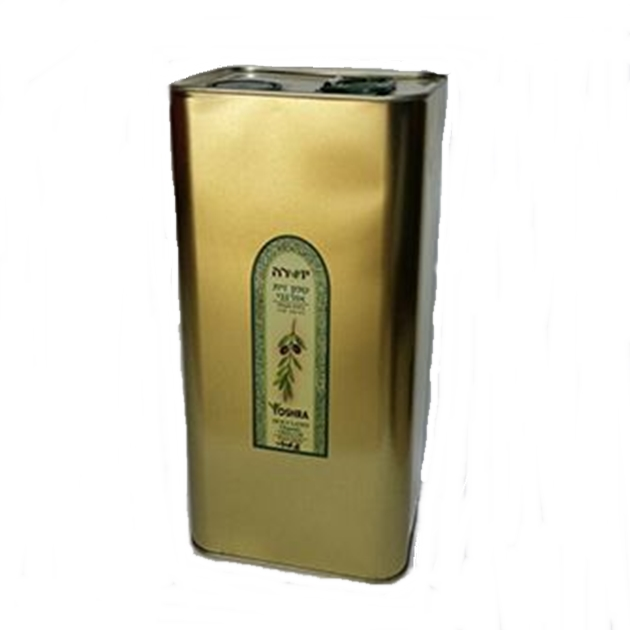(94) שמן זית אורגני, יושרה - 5 ליטר