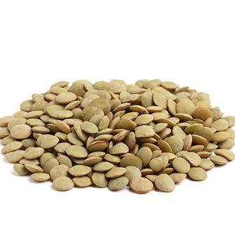"""(ק) עדשים ירוקות אורגניות - 1 ק""""ג"""