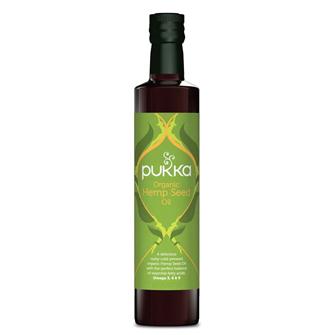 """פוקה, שמן זרעי המפ אורגני - 250 מ""""ל"""