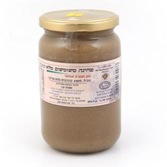 טחינה אמארה משומשום מלא נבוט, אורגני - 700 גרם