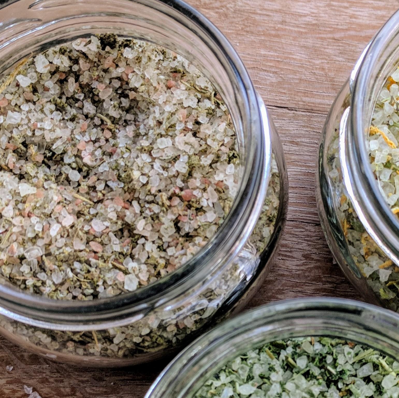 מלח צמחי מרפא אורגני, ים תיכוני - 50 גרם