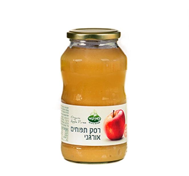 רסק תפוחים אורגני - 700 גרם