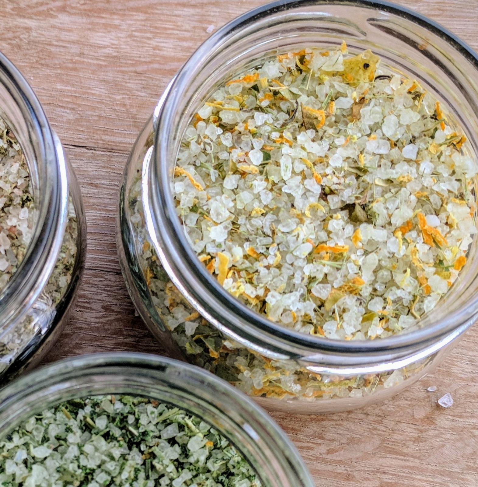 מלח צמחי מרפא אורגני, לימוני - 50 גרם