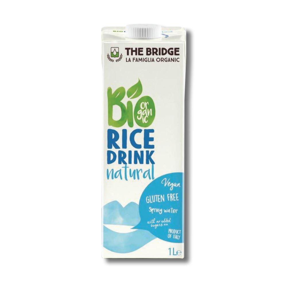 משקה אורז אורגני - THE BRIDGE - ארגז 6 יח' - ליטר 1