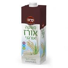 (94) משקה חלב אורז - כרם - ארגז 10 יח' - 1 ליטר