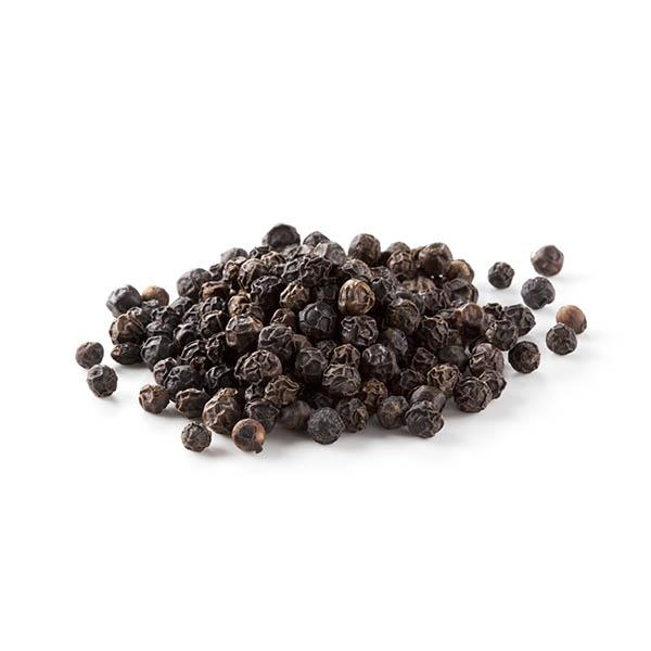 (ת) פלפל שחור שלם אורגני, הודו - 50 גרם